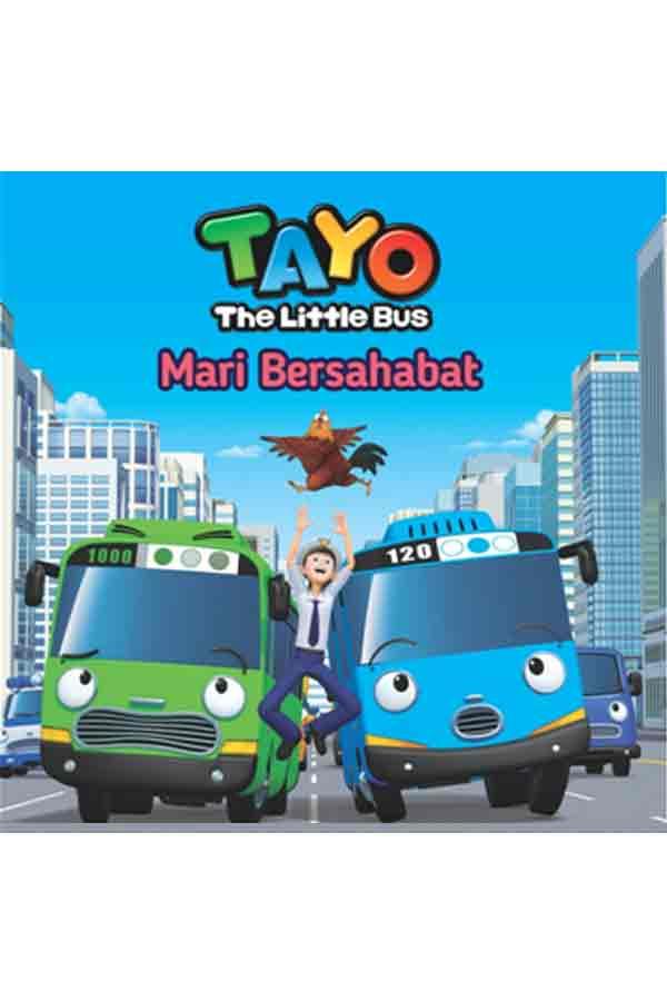 Seri Tayo, Buku anak, Cerita anak, Mengenalkan kosa-kata baru, Bus kecil