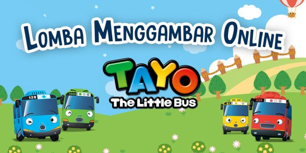 Lomba Menggambbar Online Tayo