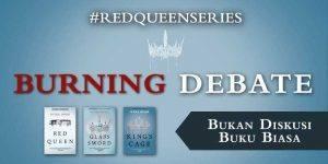 red queen burning debate