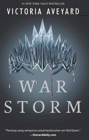 RED QUEEN SERIES Buku Empat War Storm