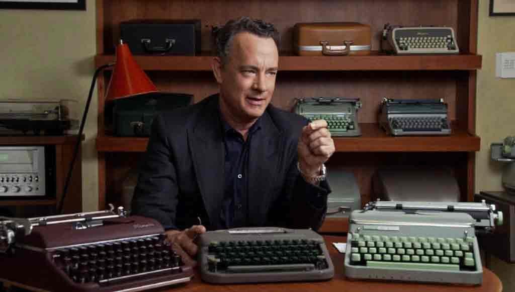 Tom Hanks, si Maniak Mesin Tik