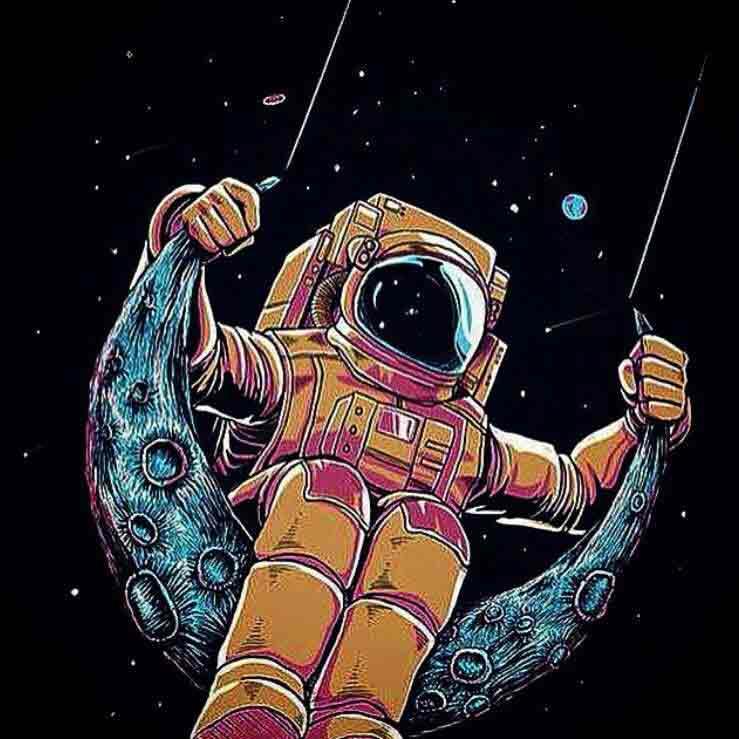 Menginspirasi astronaut