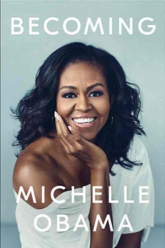 Michelle Obama Penulis buku becoming, memoar terlaris tahun 2018